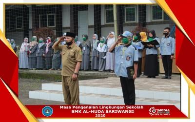 Masa Penngenalan Lingkungan Sekolah(MPLS) SMK Al-Huda Sariwangi  Tahun Ajaran 2020/2021