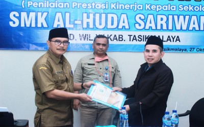 Penilaian Prestasi Kinerja Kepala Sekolah SMK Al-Huda Sariwangi tahun 2020